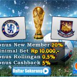 Prediksi Bola Chelsea VS West Ham United 16 Agustus 2016