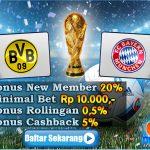 Prediksi Borussia Dortmund Vs Bayern Munich 15 Agustus 2016