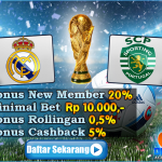 Prediksi Real Madrid vs Sporting Lisbon 15 September 2016