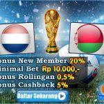 Prediksi Belanda Vs Belarusia 8 Oktober 2016