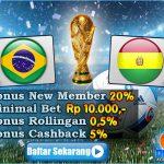 Prediksi Brasil VS Bolivia 3 Oktober 2016